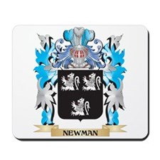 Newman Coat of Arms - Family Crest Mousepad
