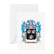 Newman Coat of Arms - Family Crest Greeting Cards