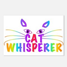 cat whisperer Postcards (Package of 8)