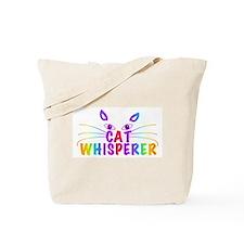 cat whisperer Tote Bag