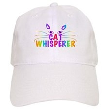 cat whisperer Baseball Baseball Cap