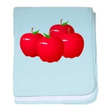 Red Apples baby blanket