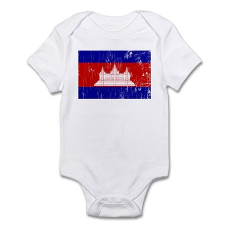 Vintage Cambodia Infant Bodysuit