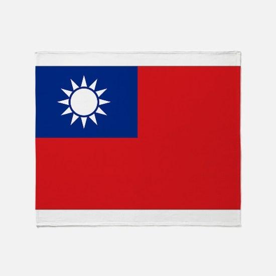 ROC flag Throw Blanket