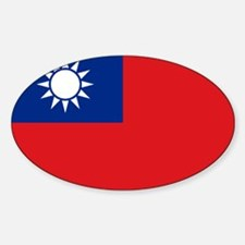 ROC flag Decal