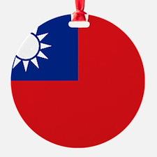 ROC flag Ornament