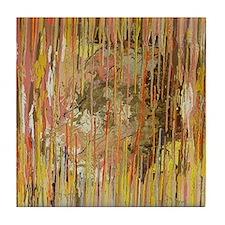 Soul Seacher Abstract Art Tile Coaster