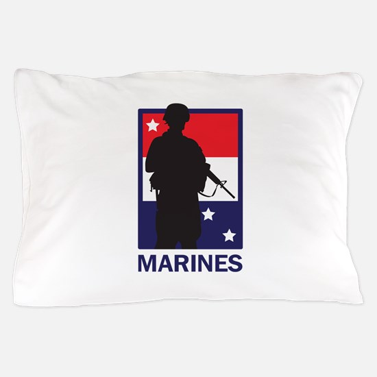 AMERICAN MARINES Pillow Case