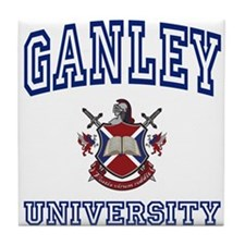 GANLEY University Tile Coaster