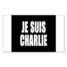 JE SUIS CHARLIE Decal