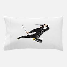 Ninja kick Pillow Case