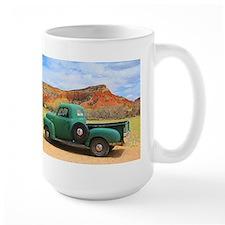 Green Truck at Ghost Ranch Mugs