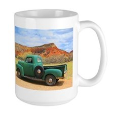 Green Truck at Ghost Ranch Mugs