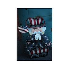 Uncle Sam Rectangle Magnet