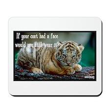 Tiger Coat Mousepad