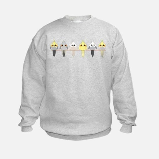 Cockatiels Sweatshirt