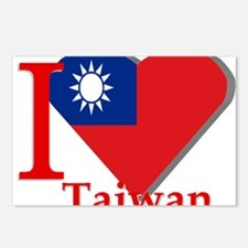 I love Taiwan Postcards (Package of 8)