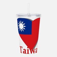 I love Taiwan Acrylic Double-wall Tumbler