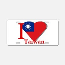 I love Taiwan Aluminum License Plate