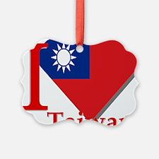 I love Taiwan Ornament