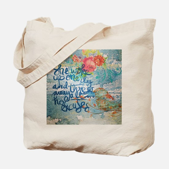 Cute Encouragement Tote Bag
