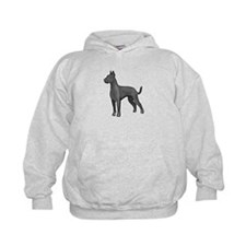 great dane blue Hoodie