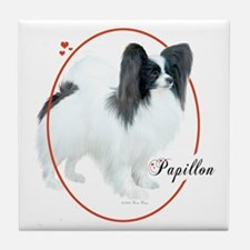 Papillon Cameo Tile Coaster