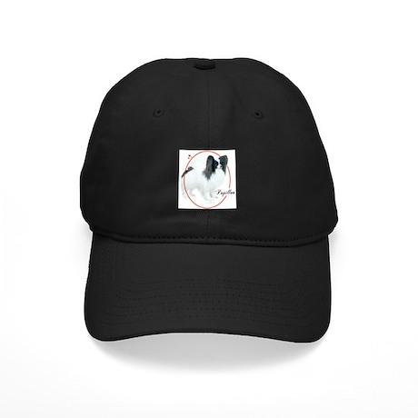 Papillon Cameo Black Cap