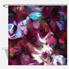 Munsell Bloom Shower Curtain