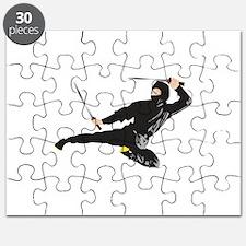 Ninja kick Puzzle