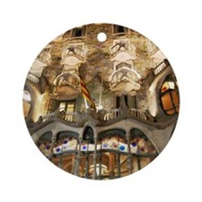 Cute Gaudi Round Ornament