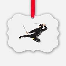 Ninja kick Ornament