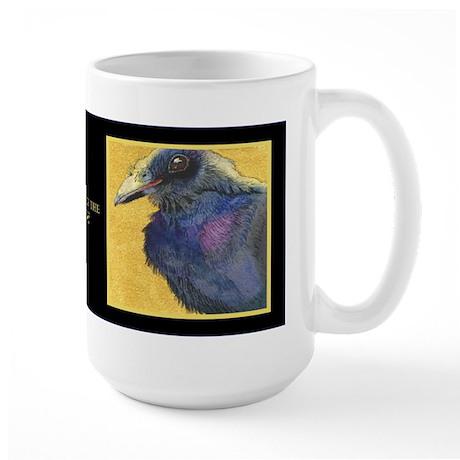 The Eye of the CROW Large Mug