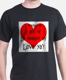 Cute Valentines day fiance T-Shirt