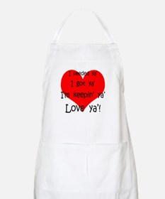Cute Marriage proposal Apron