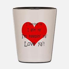 Funny Proposal Shot Glass