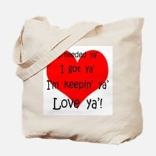 Cool Valentines day fiance Tote Bag