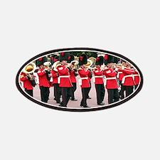 Guards Band, Buckingham Palace, London, En Patches