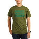 World's Okayest Birde Organic Men's T-Shirt (dark)