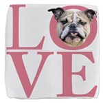 love.png Cube Ottoman