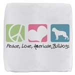 peacedogs.png Cube Ottoman
