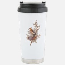 Cedar Waxwing Birds Travel Mug