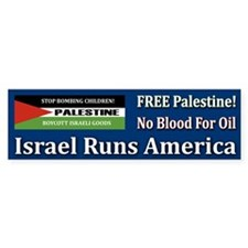 No Blood For Oil - Bumper Bumper Sticker