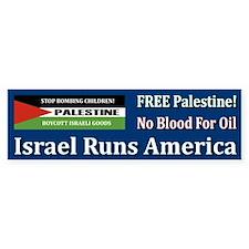 No Blood For Oil - Bumper Bumper Sticker