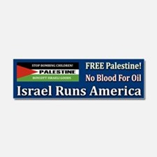 No Blood For Oil - Car Magnet 10 X 3