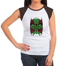 Metal Artworks Design # Women's Cap Sleeve T-Shirt
