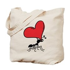 Funny Valentine Ant... Tote Bag