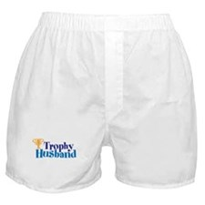 Trophy Husband Funny Valentine Boxer Shorts
