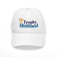 Trophy Husband Funny Valentine Baseball Baseball Cap