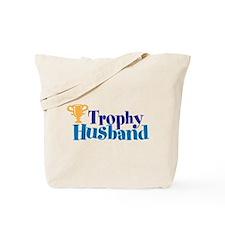 Trophy Husband Funny Valentine Tote Bag